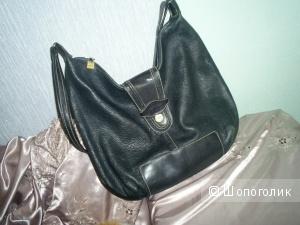 Кожаная итальянская сумка Gian Franco Ricci.