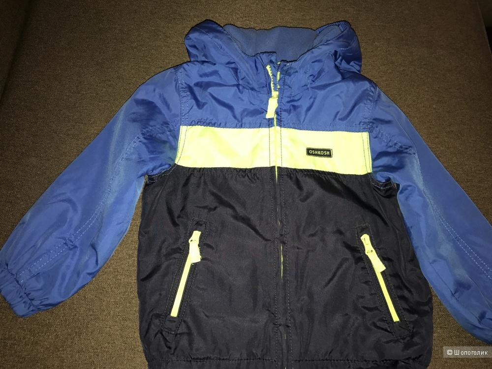 Куртка на флисе для мальчика OshKosh 3T, бу