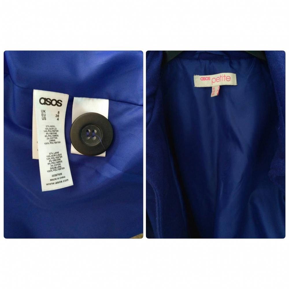 Пальто-жакет ASOS PETITE EXCLUSIVE 60s Jacket, р-р 42