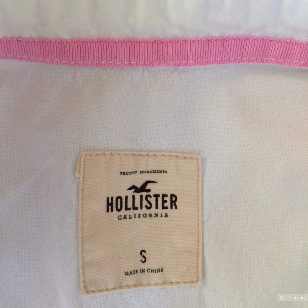 Белая рубашка Hollister р-р S