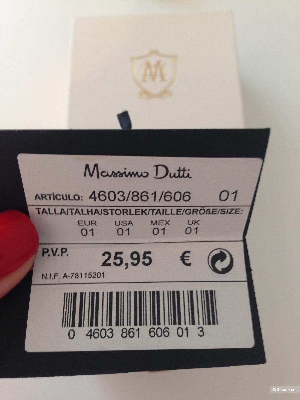 Браслет Massimo Dutti, вишнёво-свекольного цвета