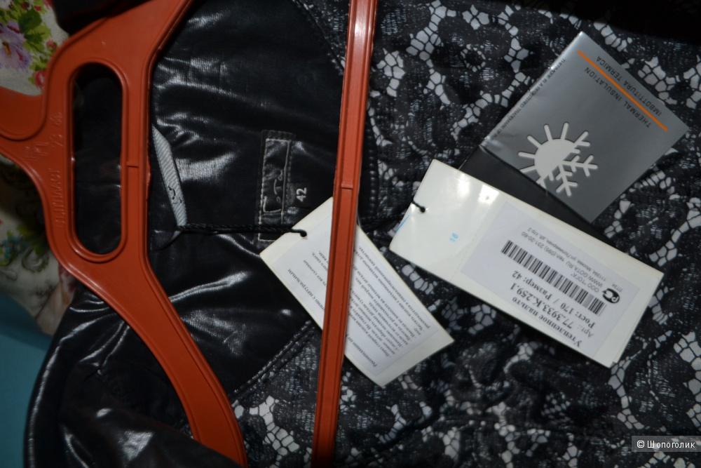 Новое полупальто - пуховик размер М-L