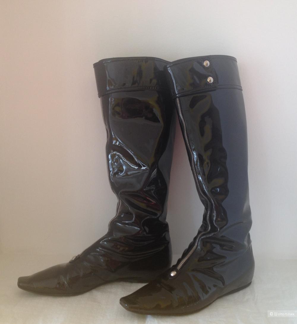 Демисезонные сапоги от итальянского бренда CASADEI, размер 37,5