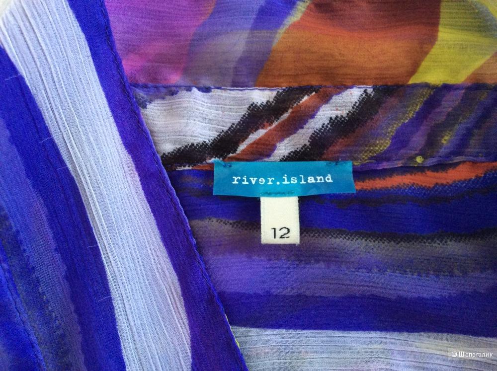 Платье рубашка River Island, размер UK 12