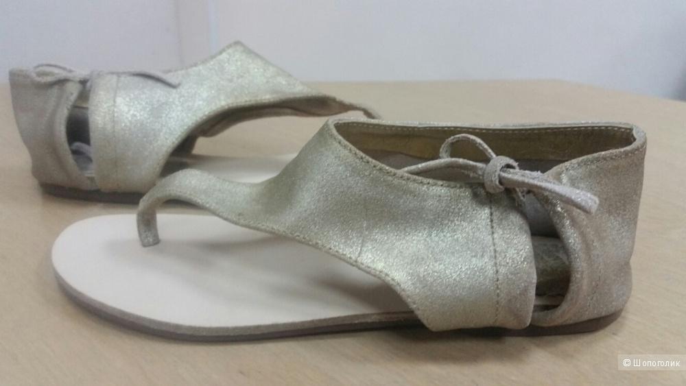 Кожаные сандалии 35 р-р ( 5 us)
