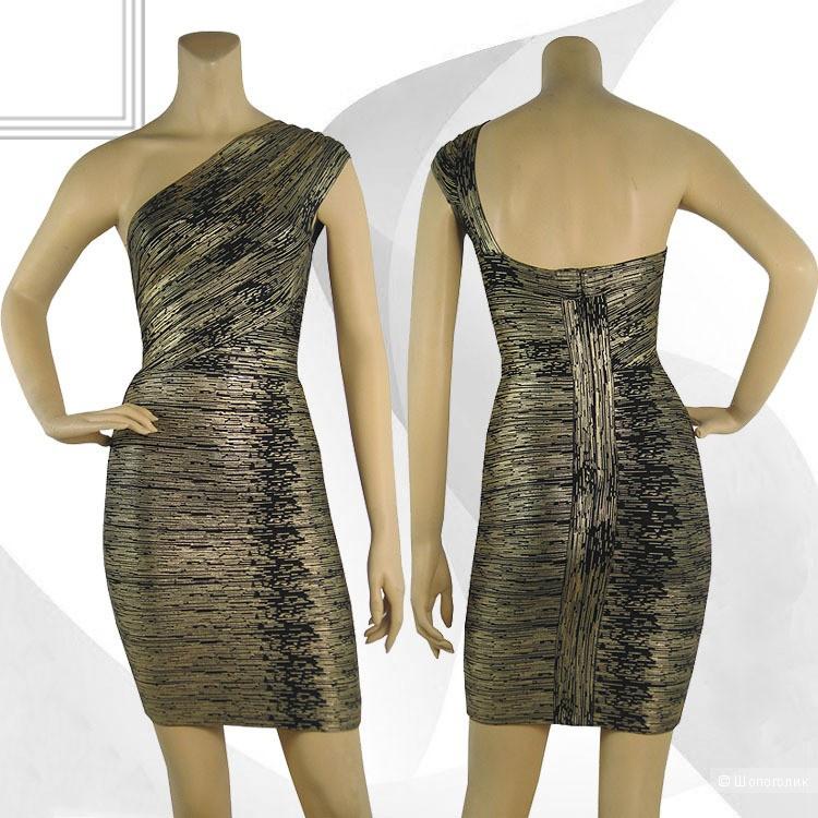 Бандажное платье под Herve Leger размер М