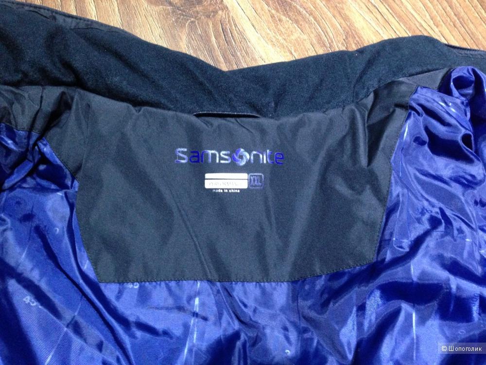 Samsonite брендовая мужская куртка р.54 Новая.Оригинал
