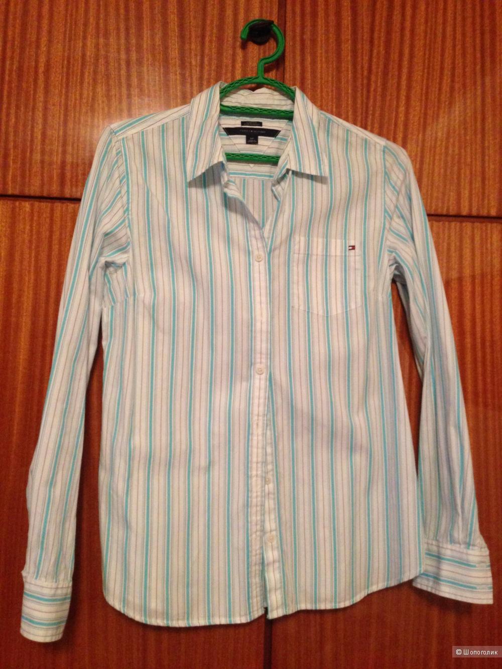 Рубашка Tommy Hilfiger в полоску р.S/P