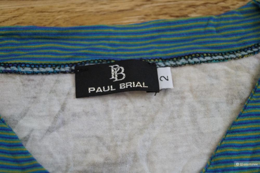 Футболка с длинным рукавом PAUL BRIAL, Франция, размер 2