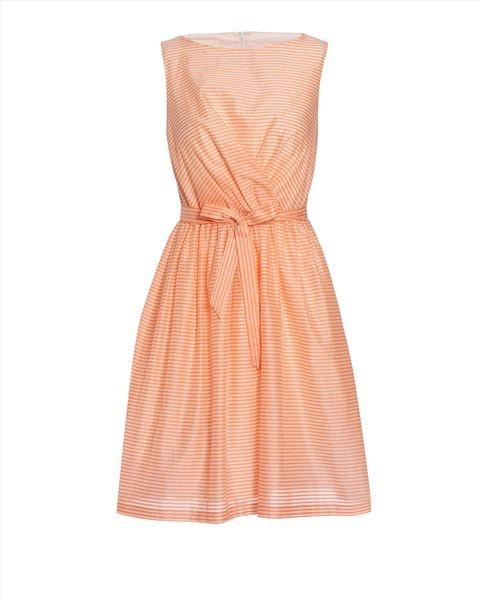 Платье в мелкую полоску Jaeger, UK10, новое