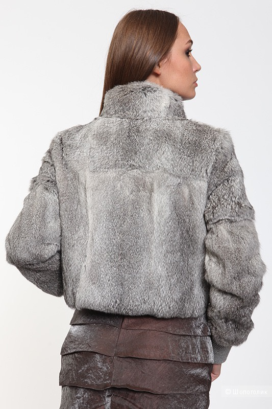 Куртка  из меха кролика Olivieri, Италия, размер 42 IT (44 рос.)