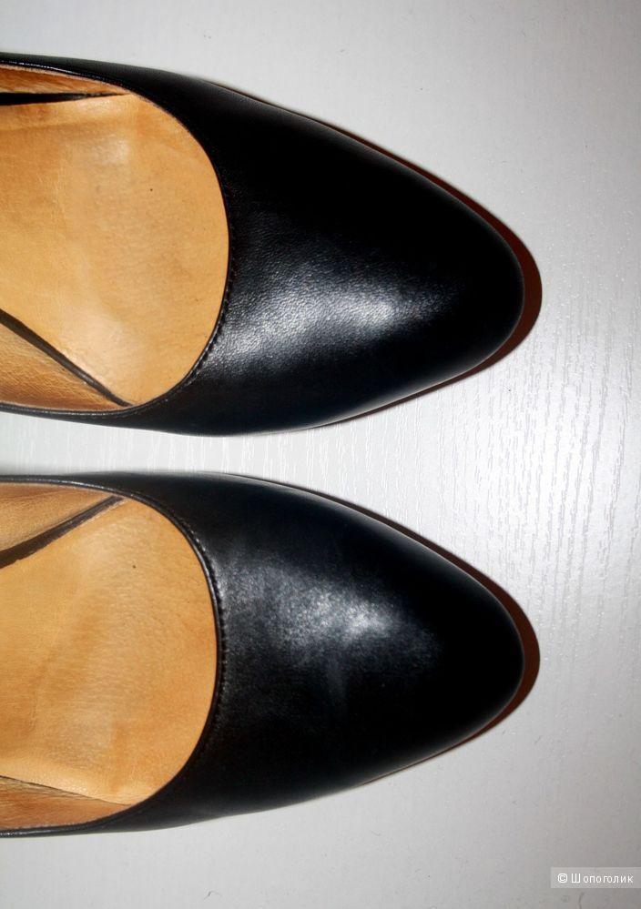 Оригинал. Удобные Туфли Buffalo London Кожа 39-40р.