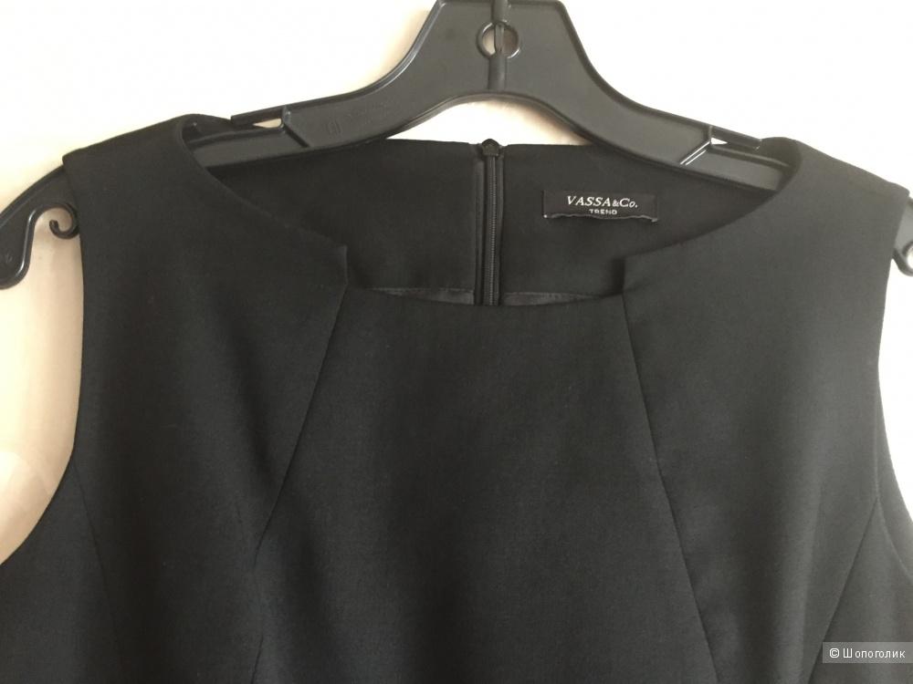 Маленькое чёрное платье Vassa and Со, размер 44-46