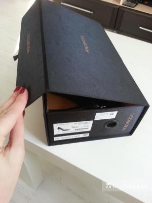 Туфли лаковые черные 39 размер ТиДжей оригинал