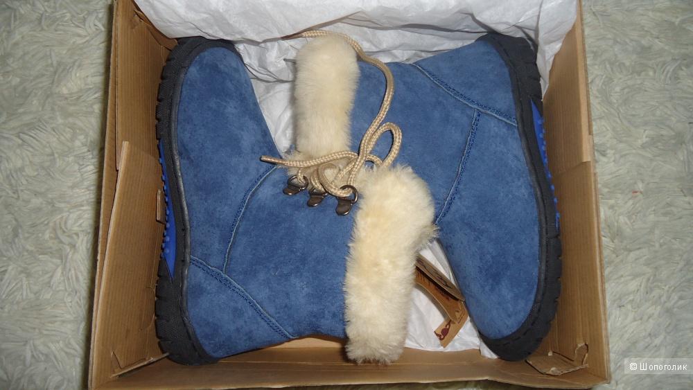 Зимние высокие ботиночки Lamo Bianca 31-32 размер