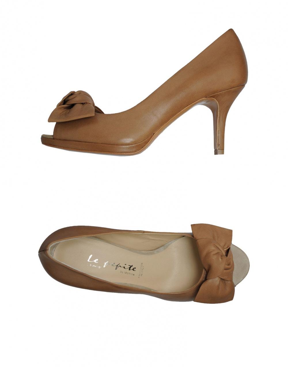 Туфли с открытым носком Le Pepite