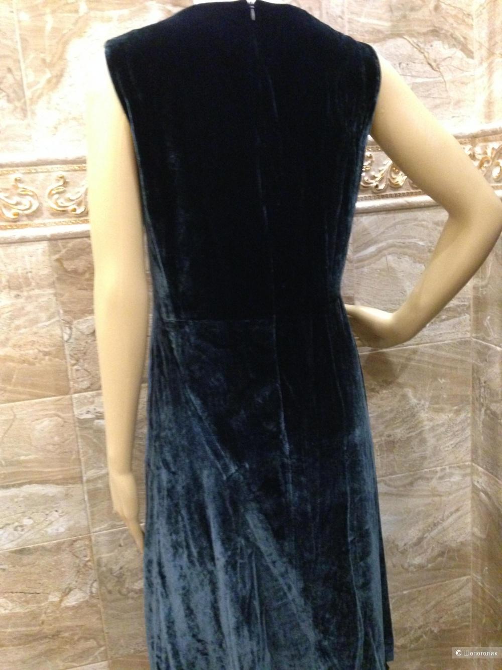 Elie Tahari шикарное дизайнерское бархатное платье р.48 Новое.Оригинал