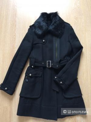 Утепленное пальто Massimo Dutti р-р M