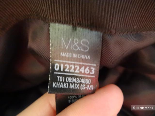 Кепка 100% шерсть, M&S, б/у, размер S-M