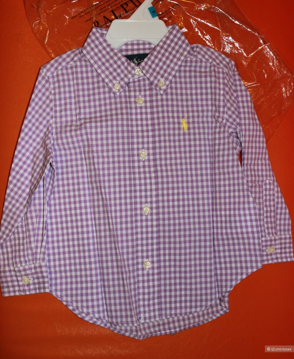 Новая рубашка Ralph Lauren, 2Т