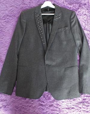 Новый пиджак из тонкой шерсти ALL SAINTS 46-48