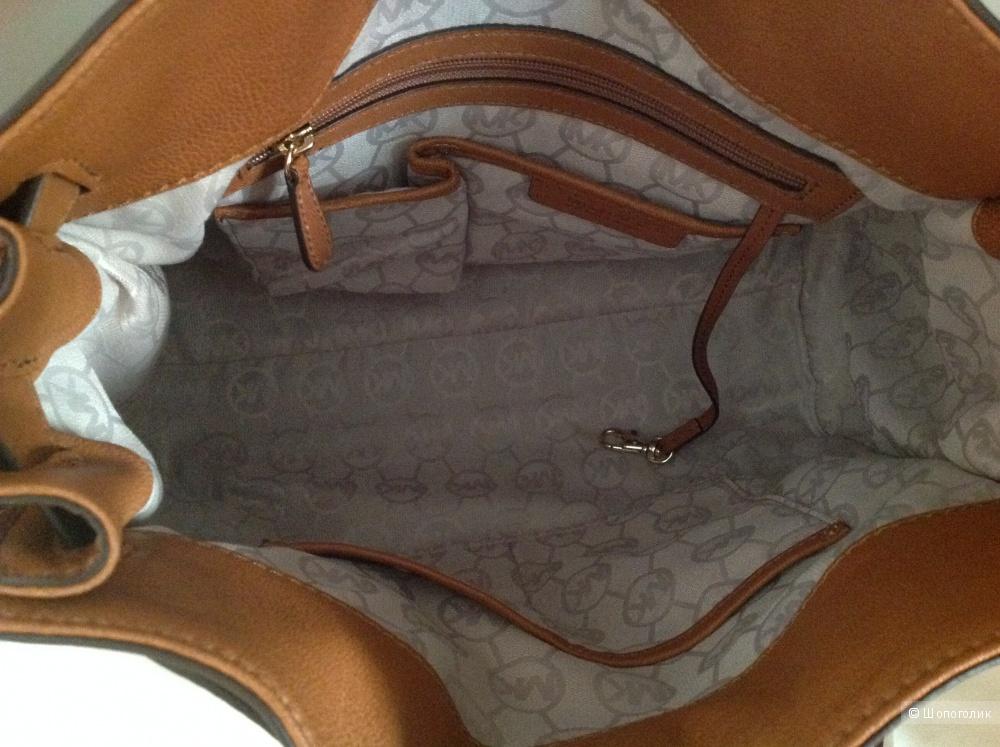 Сумка MICHAEL Michael Kors Hamilton Large NS Tote (Luggage)