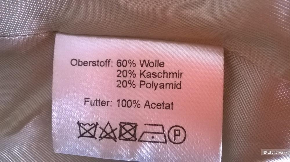 Пальто короткое Германия шерсть кашемир 44 размер