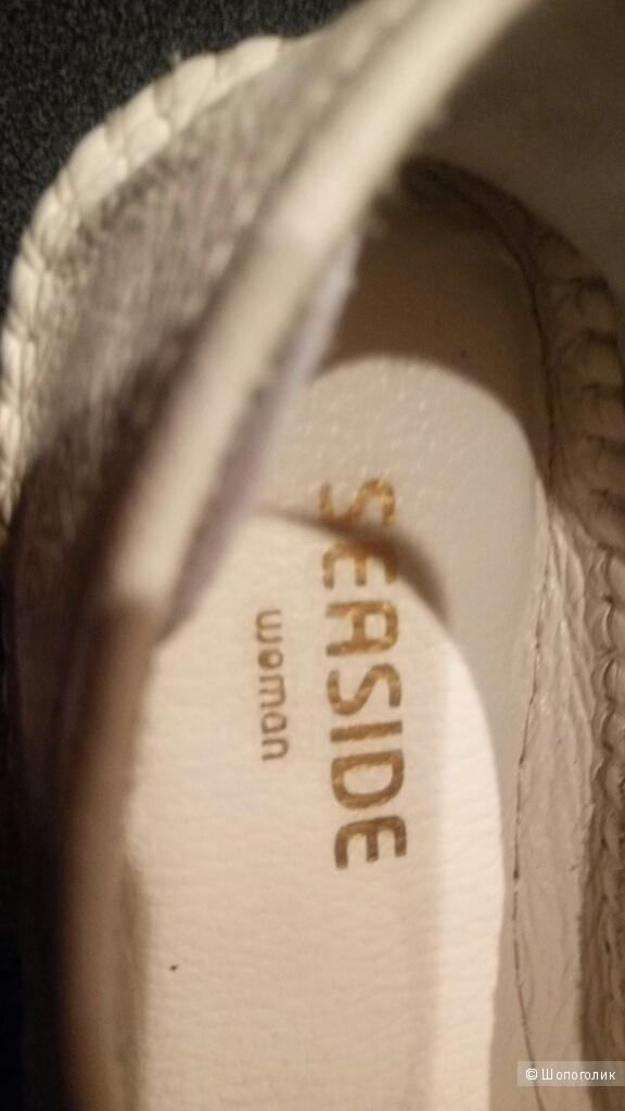 Туфли Мокасины нат.кожа Португалия 36 раз. *Seaside*