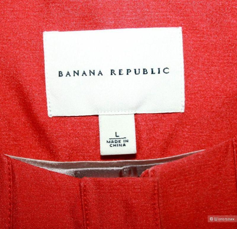 Пальто Тренч Banana Republic из хлопка и шелка 46 - 48р.