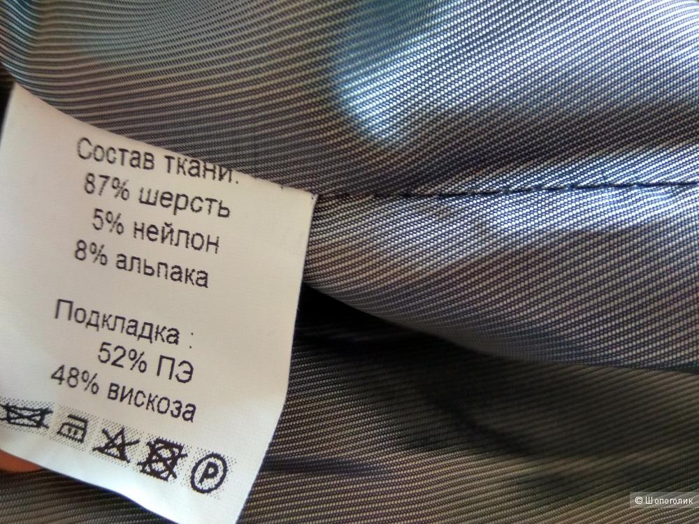 Новое шерстяное демисезонное пальто parole by Victoria Andreyanova 46 разм.