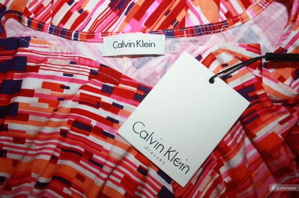 Оригинал. Новое платье Calvin Klein. 1-ая линия 46-48р