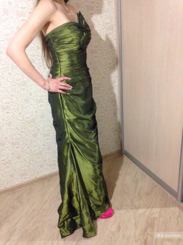 Вечернее платье maggie sottero,размер S-L, б/у.