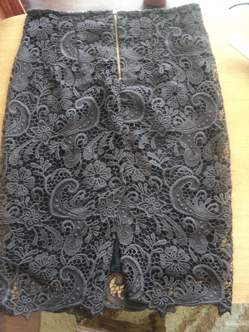 Классная юбка, ZARA BAZIC, размер 44-46 б/у.