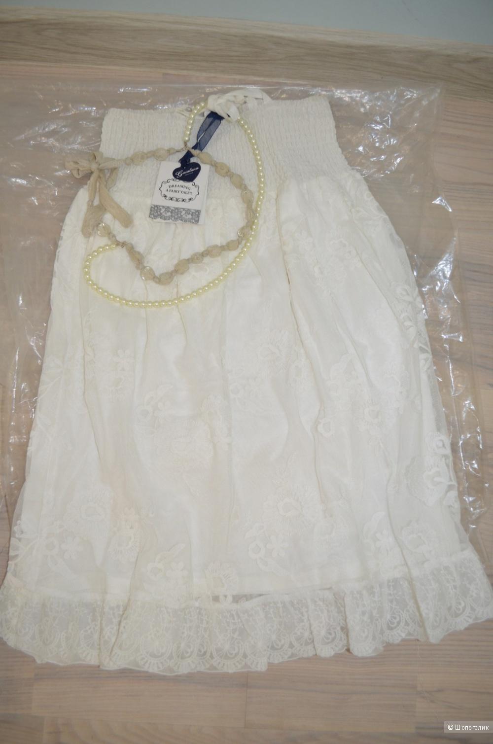 Новое платье бренда gaialuna (топ) на рост 140см
