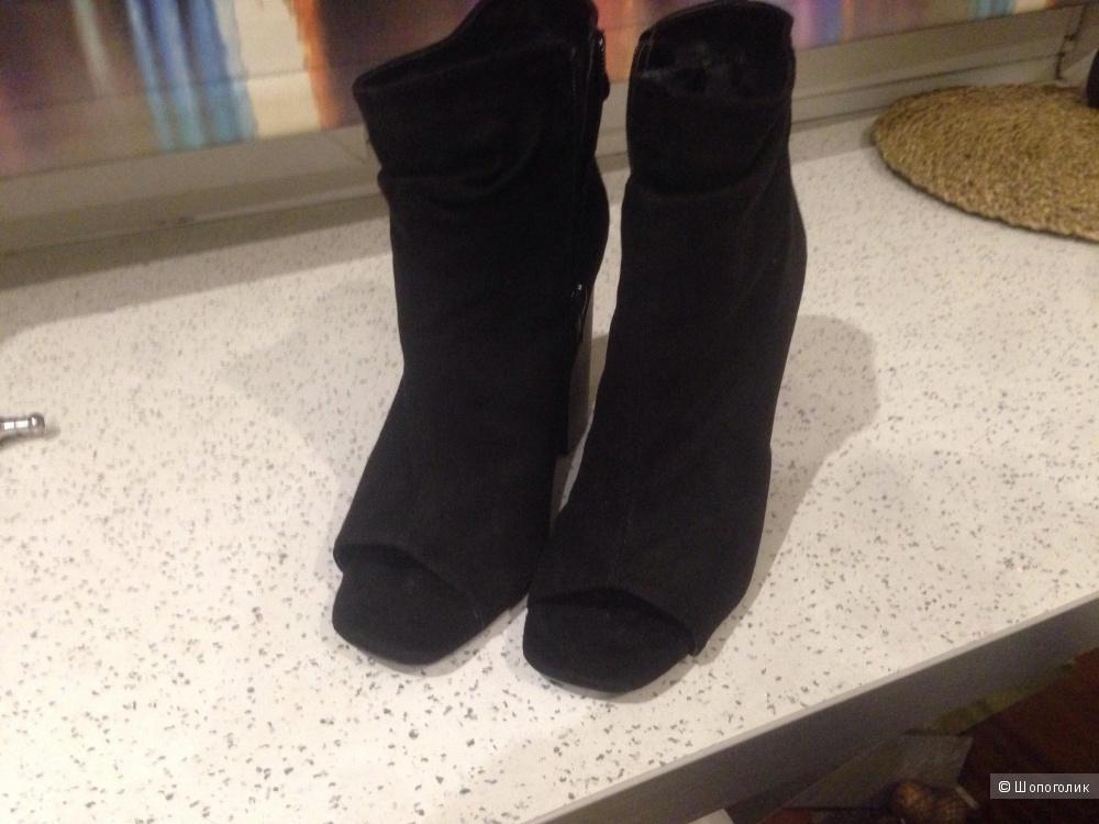 Ботильоны Missguided с открытым носком, новые, 39 размер