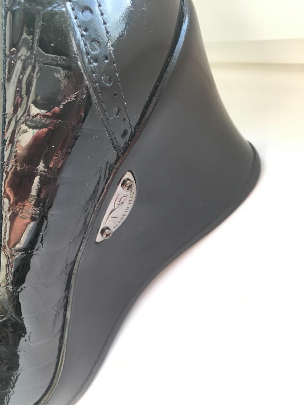 Туфли на танкетке, Италия, б/у