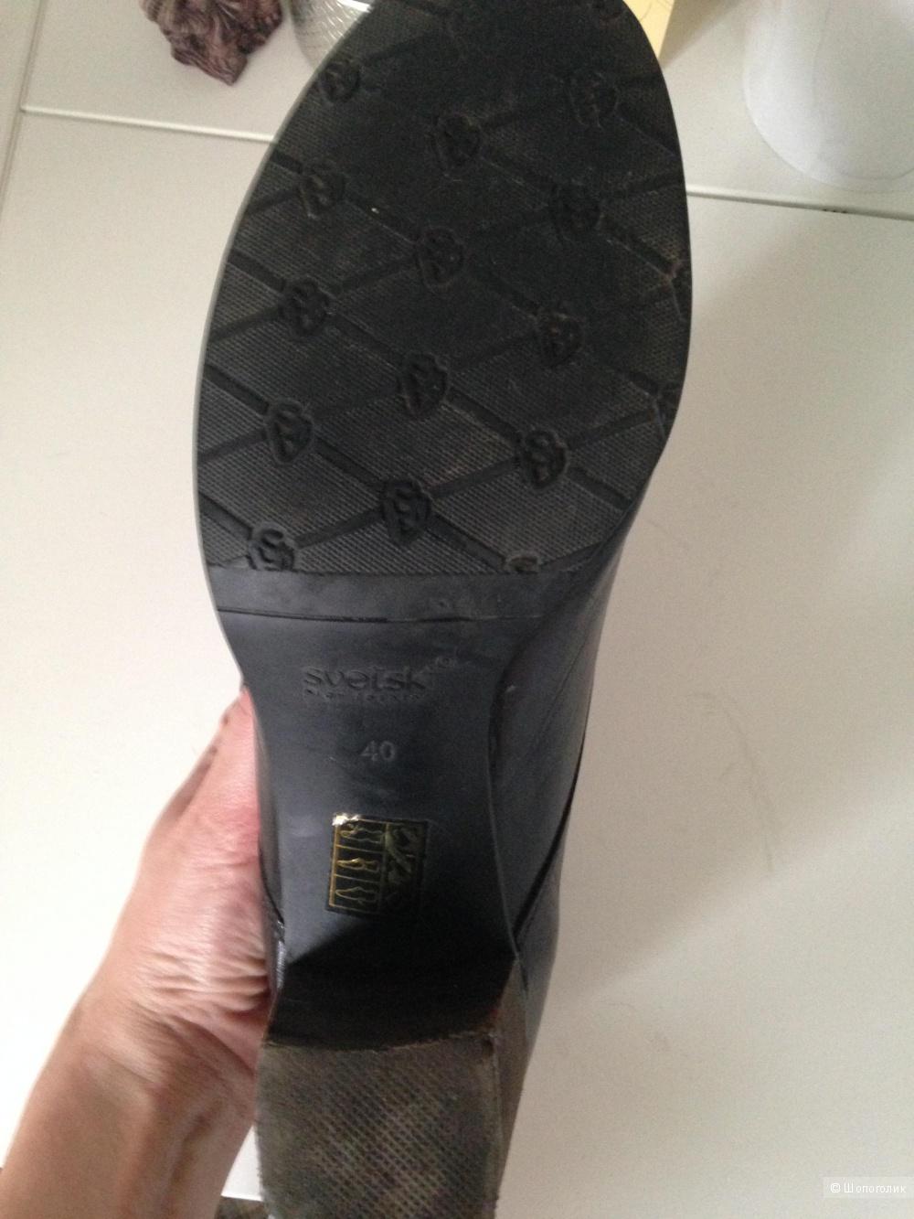 Ботинки на весну Svetski, размер 40