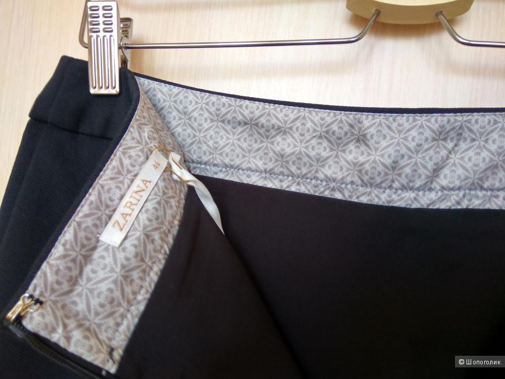 Классическая черная юбка-карандаш Zarina новая 46 разм.