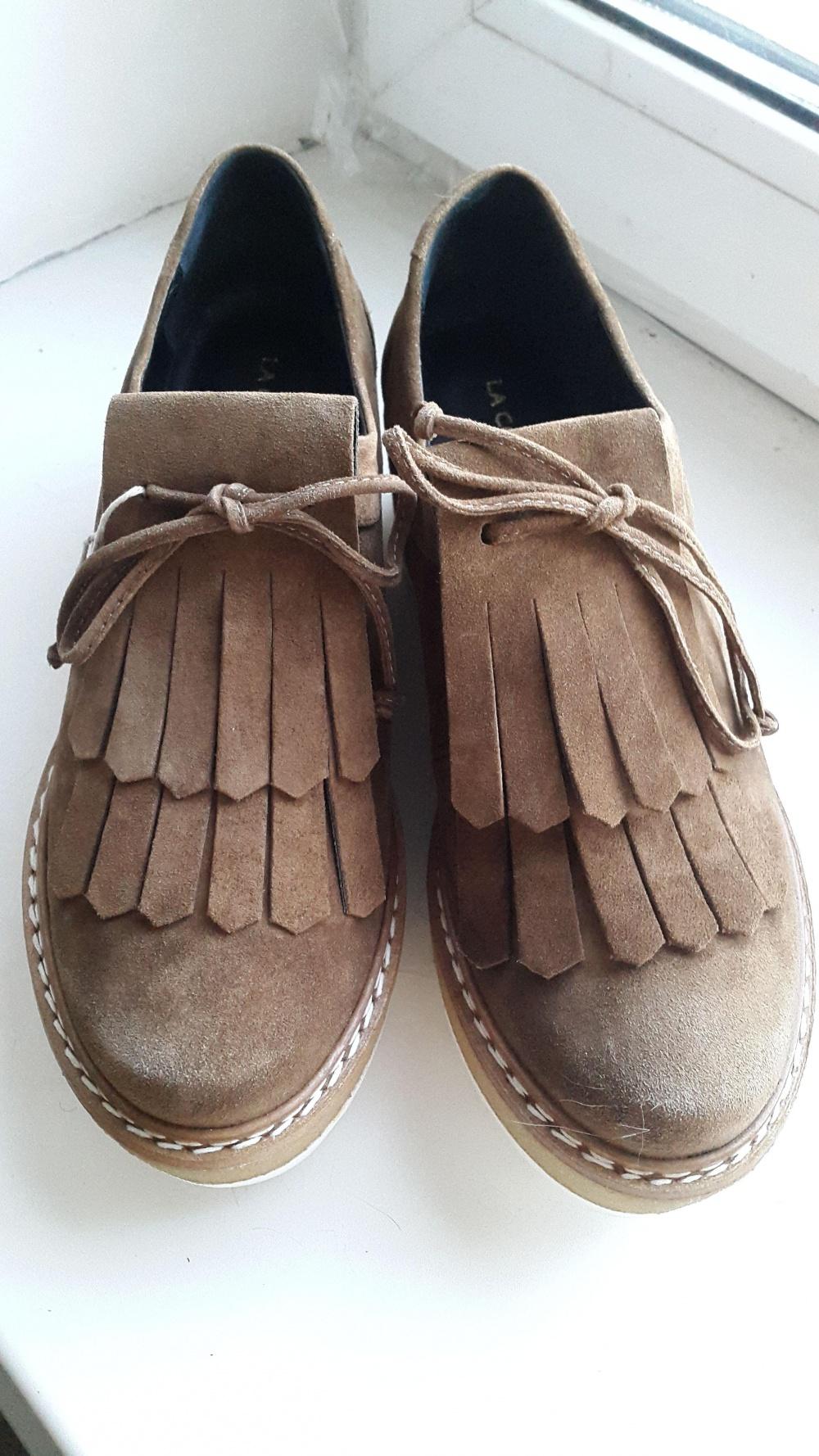 Ботинки замшевые LA CORDE BLANCHE