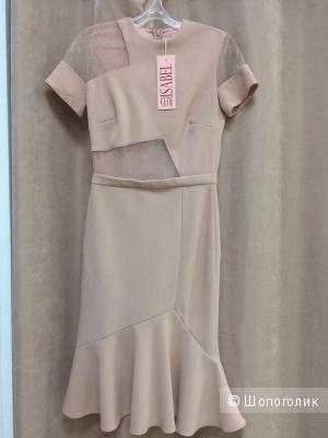 Коктейльное новое платье Red Isabel, Италия, 44-46, цвет пудры