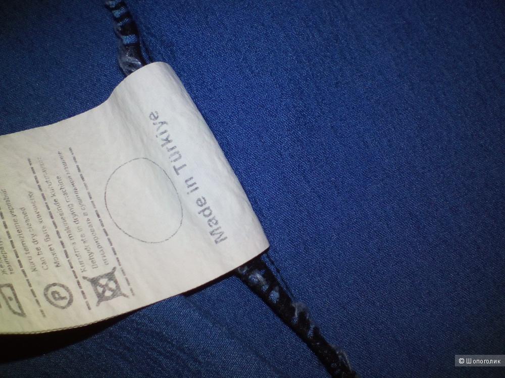 Кардиган джинсовый р-р 48