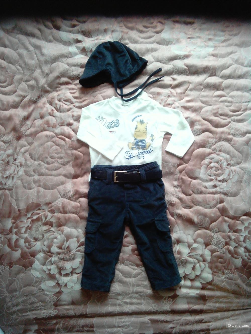 Классный комплект на маленького модника (74 см)