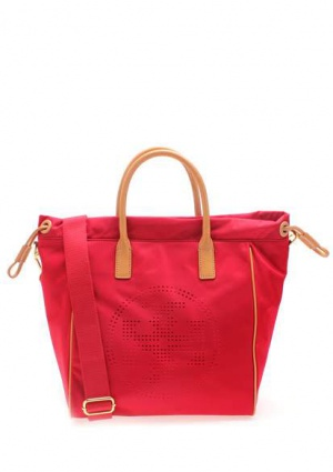 Small perforated logo drawstring tote Tory Burch