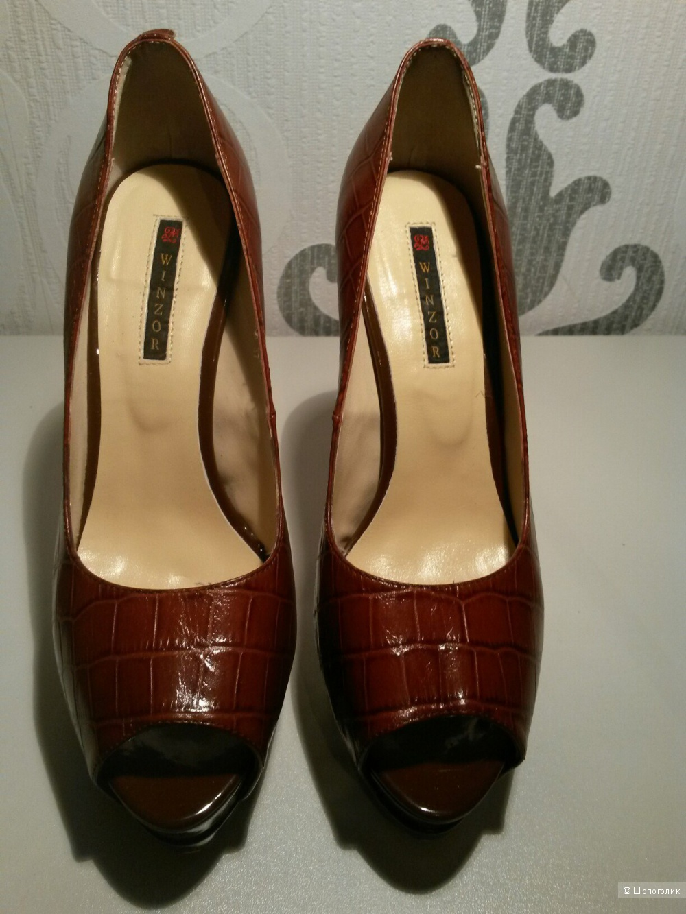 Туфли бренда  Winzor кожа