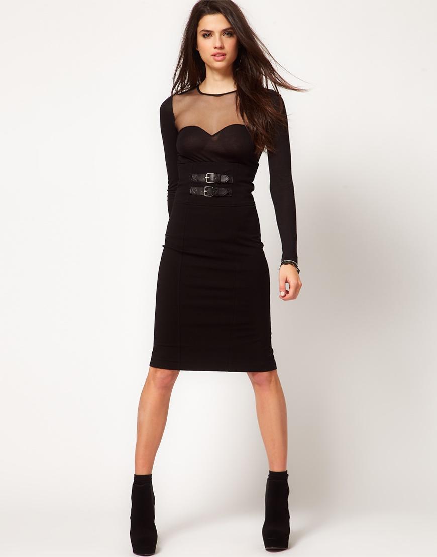 Новая чёрная юбка-карандаш Miss Sixty (XL)