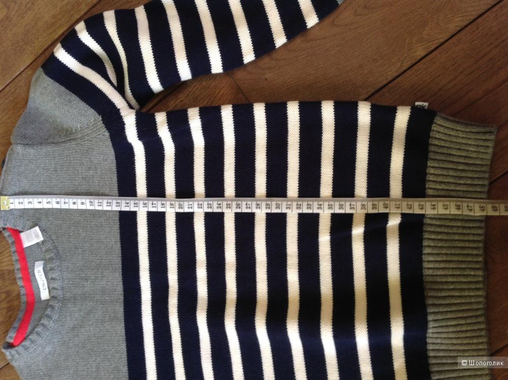Новый детский свитер хлопок Okaidi (Франция) 128р