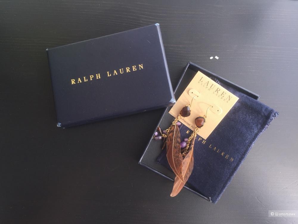 Серьги Ralph Lauren
