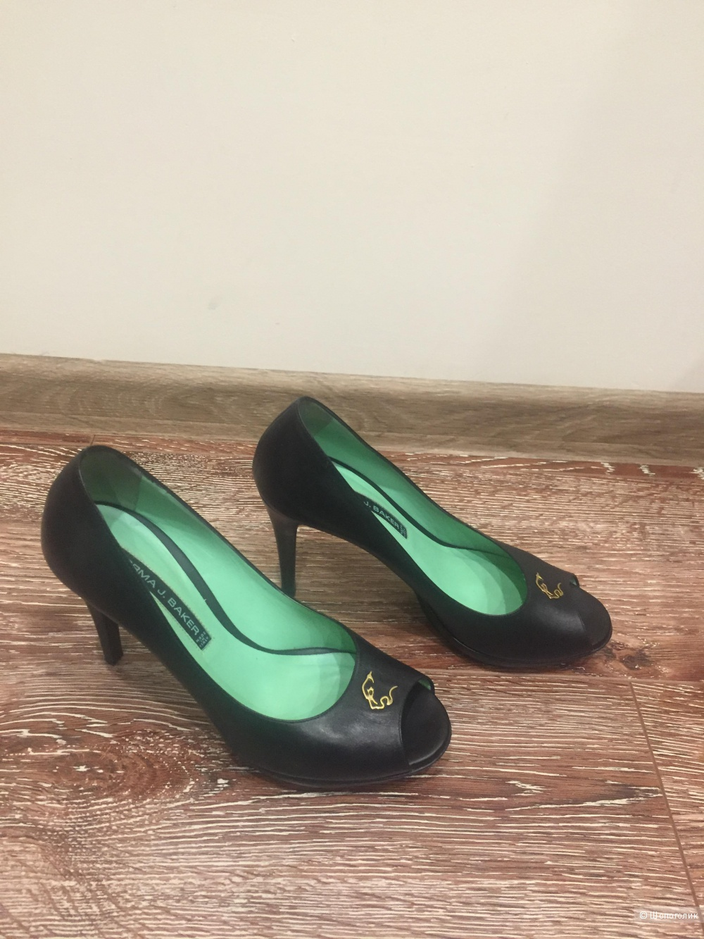Туфли Norma J.Baker кожа 39 размер, б/у в отличном состоянии