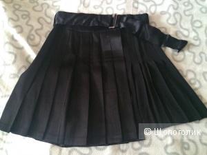 Плиссированная юбка Zara размер M