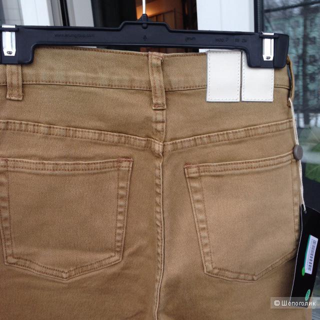 Джинсы WOODWOOD (на 44 размер, 28 размер джинсов)